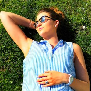 Covid 19 studies show vitamin d has an effect - woman laying in sun