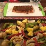 Recipe - sheet pan potatoes and salmon